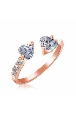 Isabella állítható méretű gyűrű rosegold
