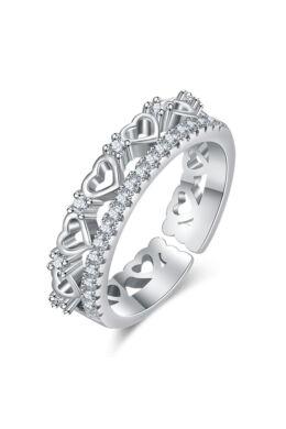 Ita állítható méretű gyűrű whitegold