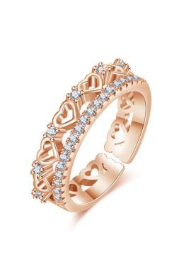 Ita állítható méretű gyűrű rosegold