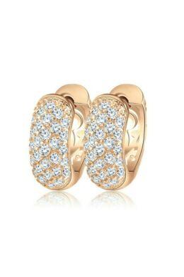 Smoon Luxury Demi gold fülbevaló Swarovski kristállyal