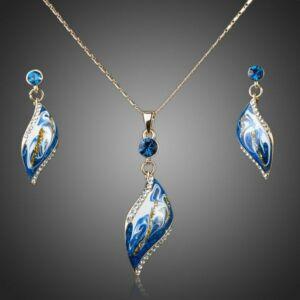 Smoon Harmonia kék romantikus szett