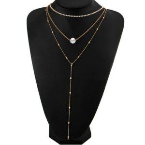 3:1-ben mutatós nyaklánc gold