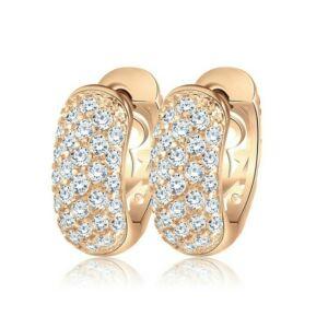 Smoon Luxury Demi gold fülbevaló