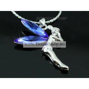 Kék angyalka kristályos nyaklánc