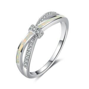Opál masni gyűrű 59,4 mm