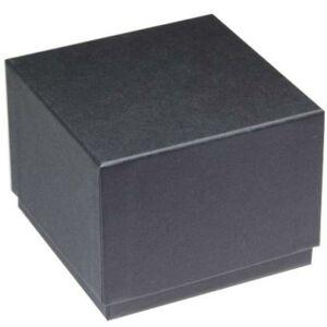 Órásdoboz fekete 90x90x70