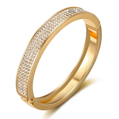 Exkluzív sokkristályos karperec gold