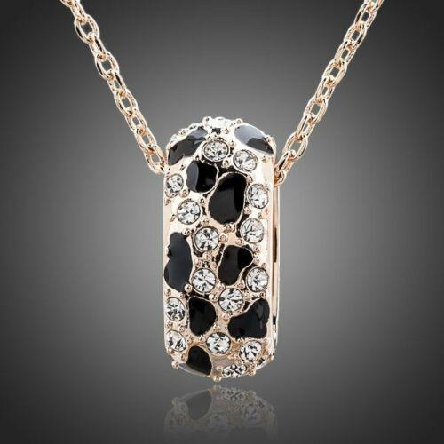 Smoon leopárdmintás nyaklánc gold
