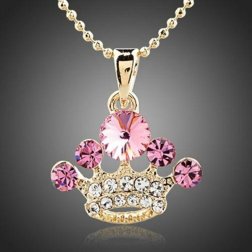 Smoon pink korona nyaklánc
