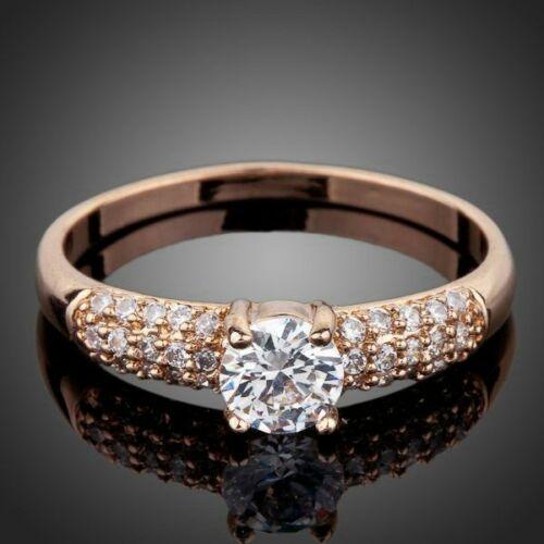 Smoon Forever Love rosegold gyűrű -56,9 mm