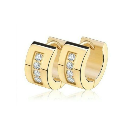 Nemesacél Smoon Luxury Letitia gold fülbevaló