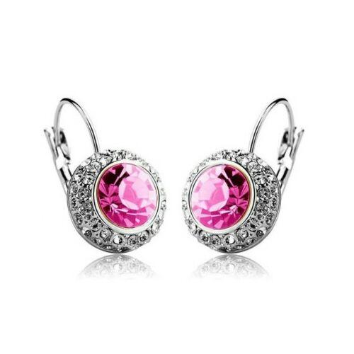 Hercegnő fülbevaló pink
