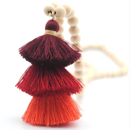 Rojtos-fagolyós nyaklánc pirosas