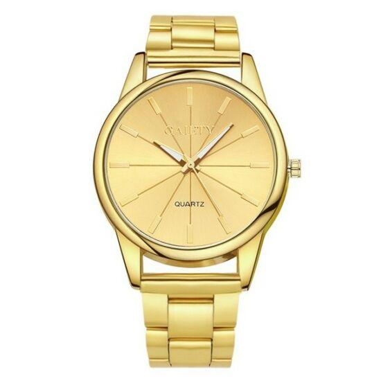 Irina női fémszíjas óra gold