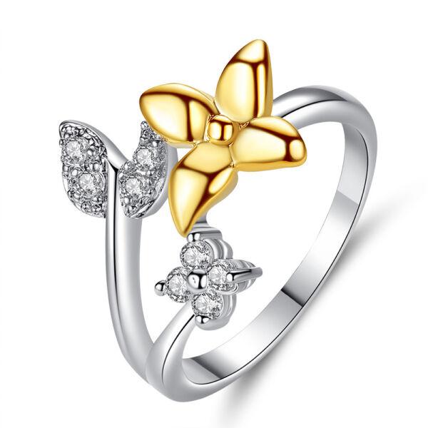 Editta bicolor gyűrű