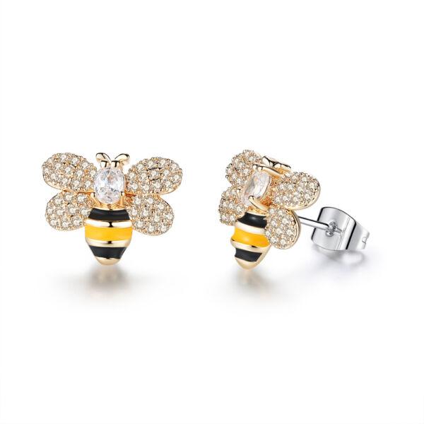 Beszúrós méhecske fülbevaló