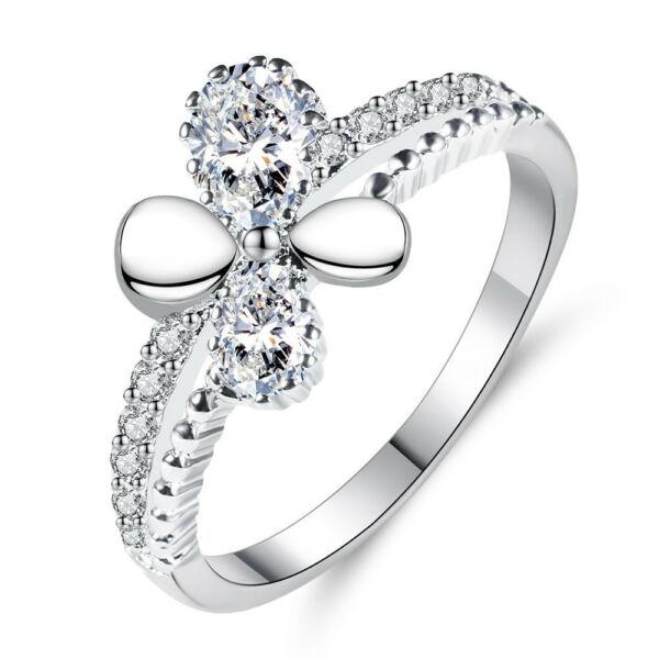 Elena gyűrű whitegold