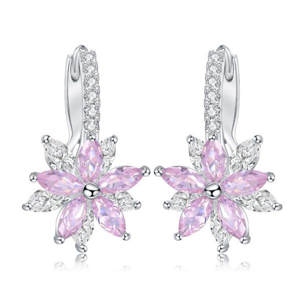 Elenora fülbevaló rózsaszín