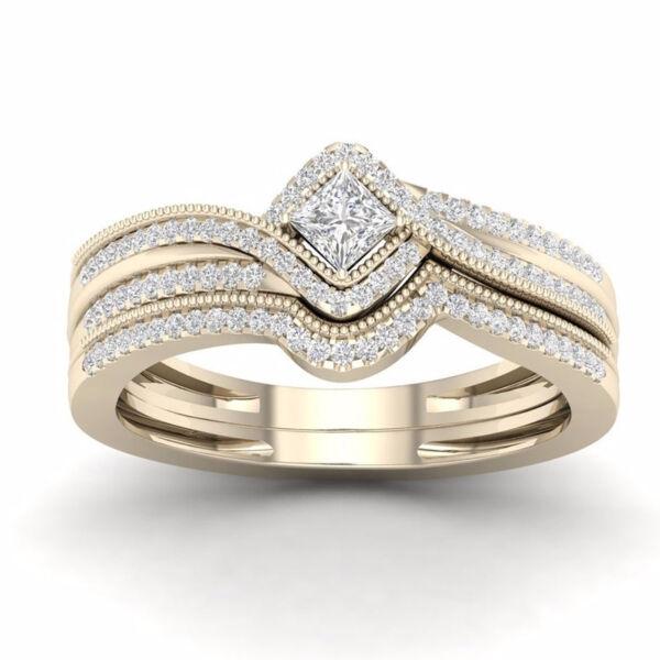 Fülvia gyűrű gold