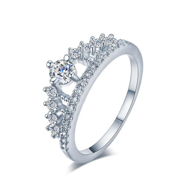 Giordana gyűrű whitegold