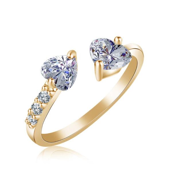Isabella állítható méretű gyűrű gold