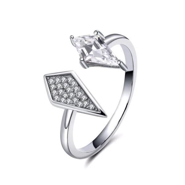 Trendi Swarovski kristályos gyűrű