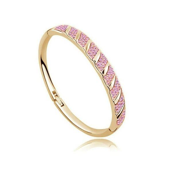 Karkötő 1133 gold-pink