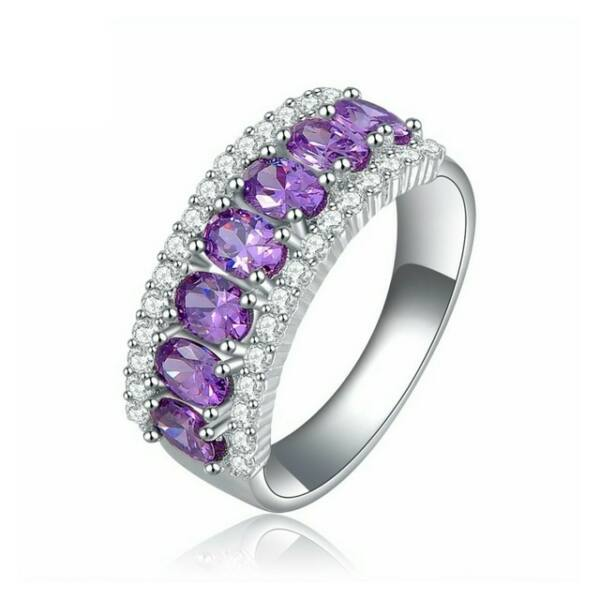 Smoon Luxury Violet gyűrű - 51,8 mm