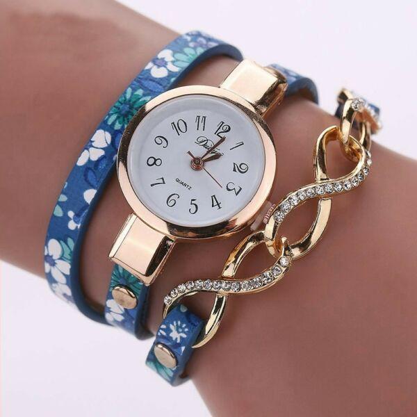 Masnis-virágos óra kék