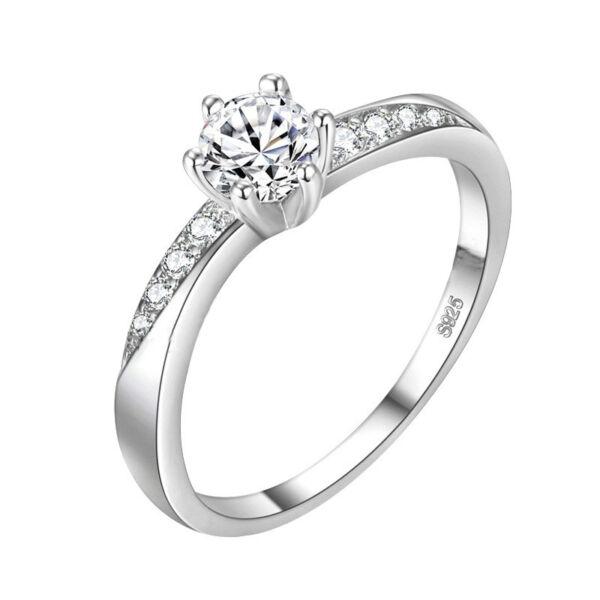 Florentina gyűrű whitegold