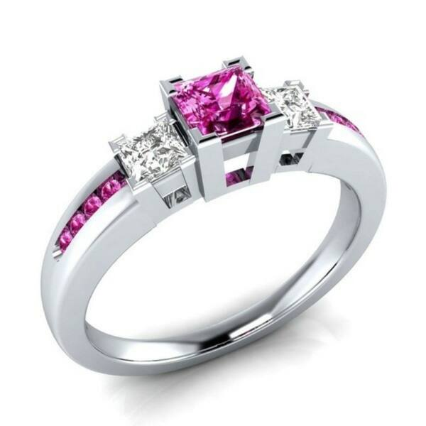 Hella gyűrű pink
