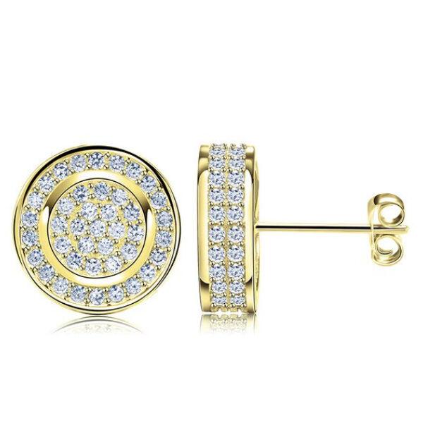 Lucilla Swarovski kristályos fülbevaló gold