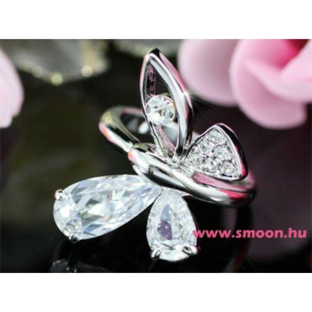 Pillangó gyűrű 95