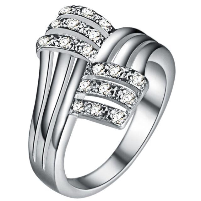 Ölelő kristályok gyűrű