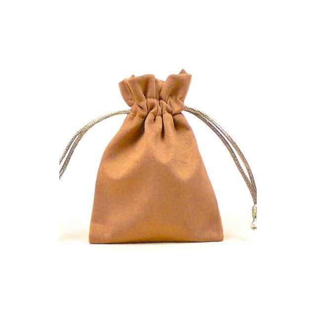 Plüss ajándék tasak 8x7 cm bézs